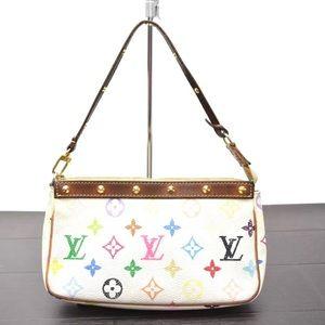 Auth Louis Vuitton Pochette Shoulder Bag